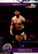 2019 WWE Road to WrestleMania Trading Cards (Topps) Hideo Itami 45
