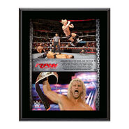 Dolph Ziggler Intercontinental Championship 10 x 13 Commemorative Collage