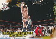 2001 WWF WrestleMania (Fleer) The Rattlesnake Reigns Supreme 99