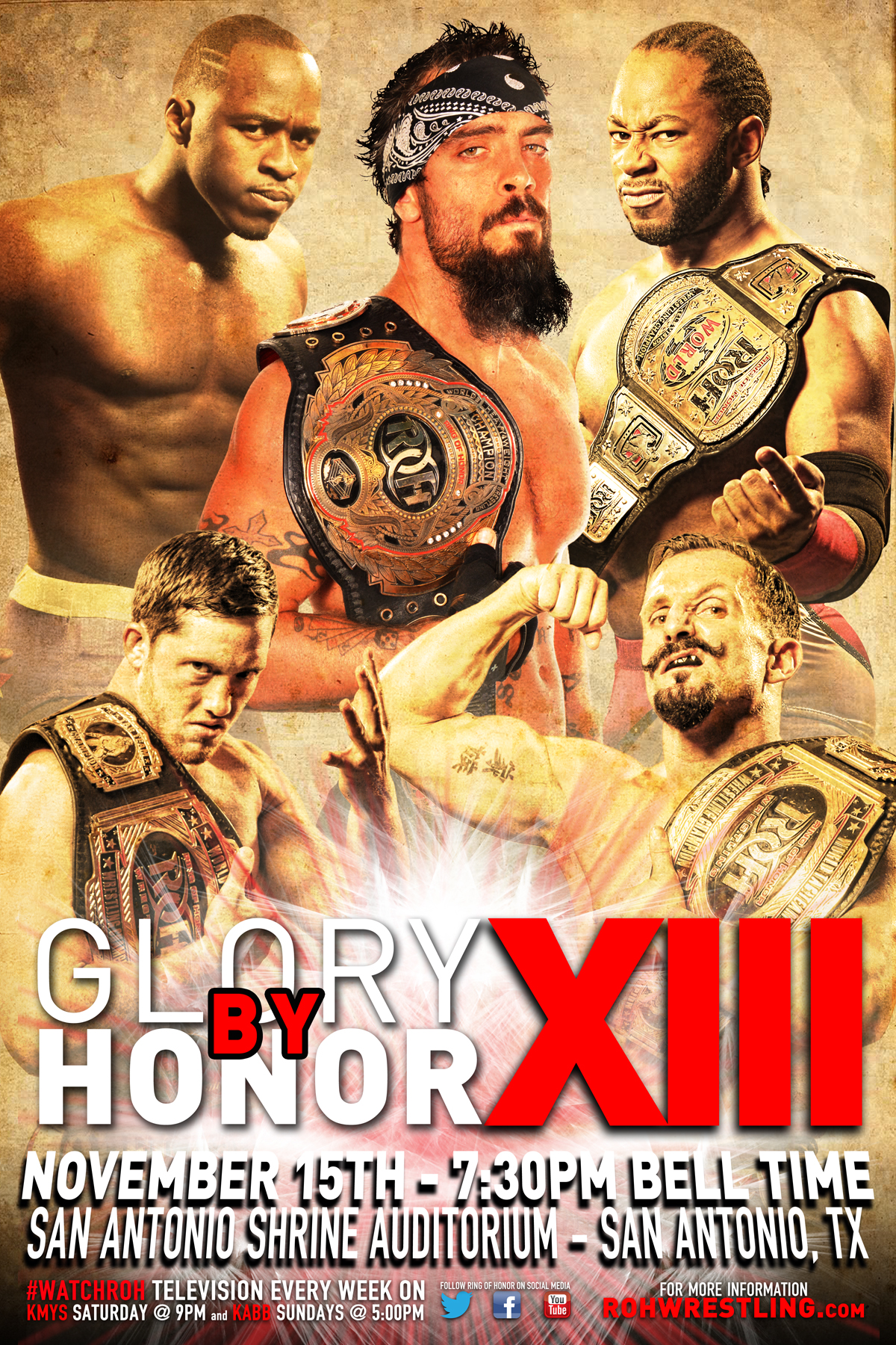 ROH Glory By Honor XIII