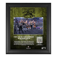 Team LeRae NXT WarGames 2020 15x17 Commemorative Plaque