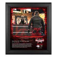The Fiend & Alexa Bliss WrestleMania 37 15x17 Commemorative Plaque