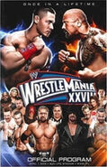WrestleMania XXVIII Program