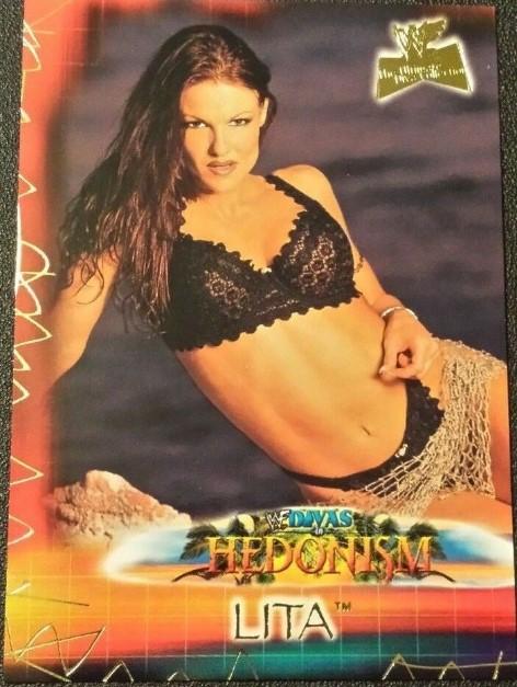 2001 WWF The Ultimate Diva Collection (Fleer) Lita (No.93)