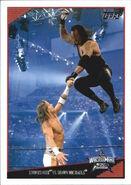 2009 WWE (Topps) Undertaker vs. Shawn Michales 84
