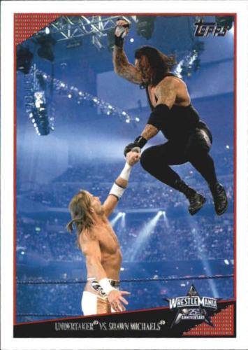 2009 WWE (Topps) Undertaker vs. Shawn Michaels (No.84)