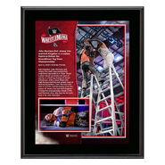 WrestleMania 36 John Morrison 10 x 13 Limited Edition Plaque