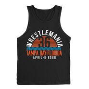 WrestleMania 36 Waves Tank Top