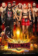WrestleMania 35 poster