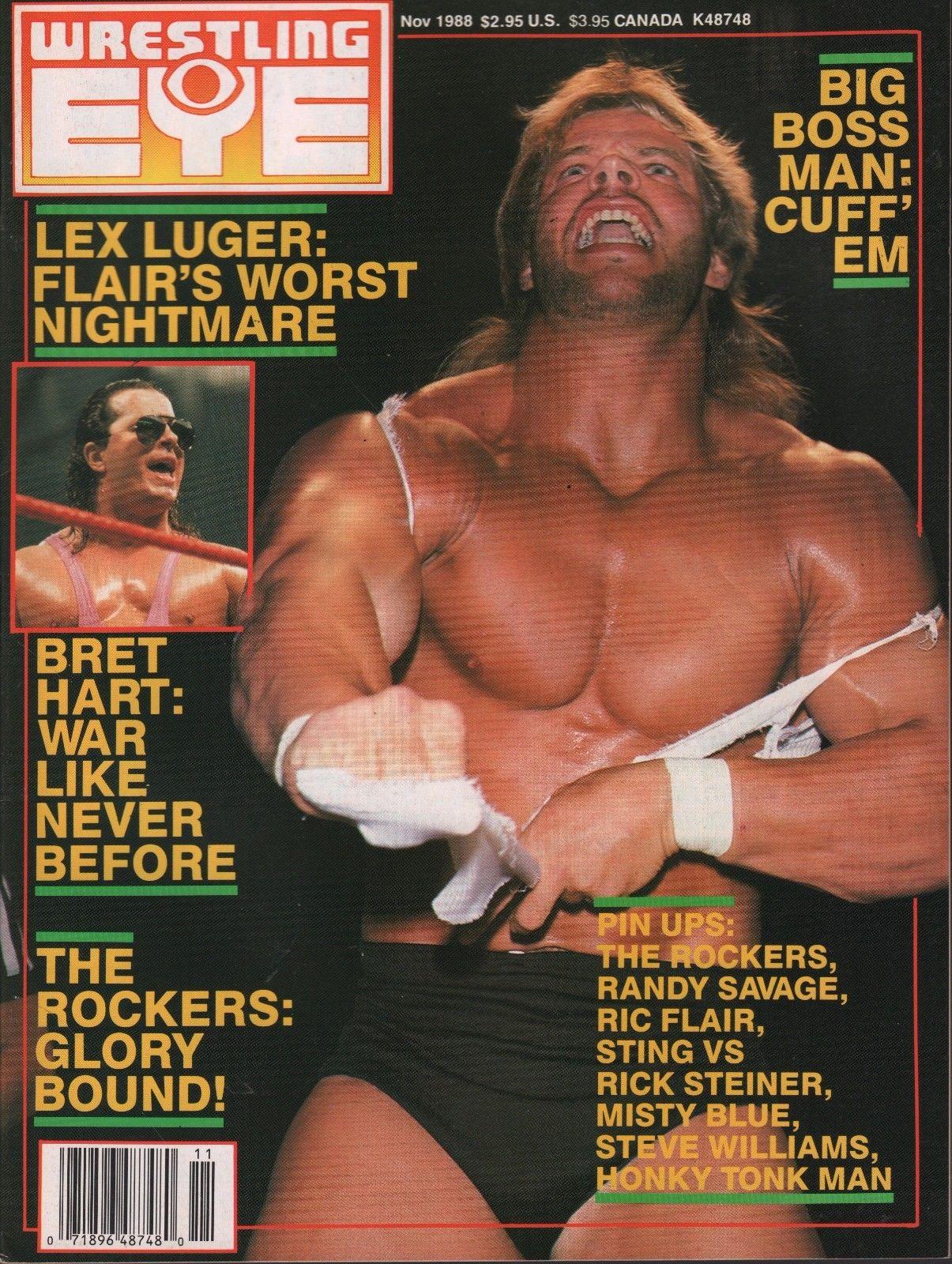 Wrestling Eye - November 1988