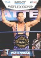 2012 TNA Impact Wrestling Reflexxions Trading Cards (Tristar) Kurt Angle 89