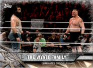 2017 WWE Road to WrestleMania Trading Cards (Topps) The Wyatt Family 13