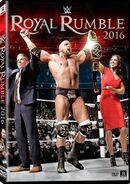 Royal Rumble 2016 DVD