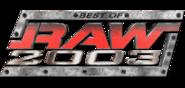 WWERaw Bestof2003