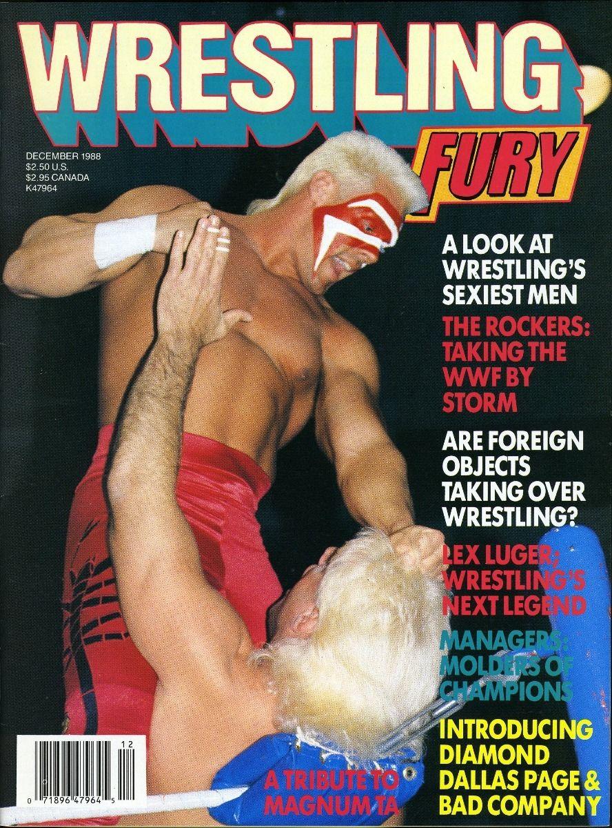 Wrestling Fury - December 1988