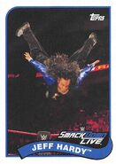 2018 WWE Heritage Wrestling Cards (Topps) Jeff Hardy 32