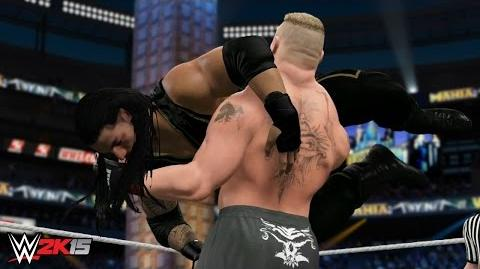 WWE 2K15 Wrestlemania 31 - Brock Lesnar vs Roman Reigns - WWE World Heavyweight Championship!