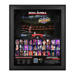 WWE Women's Royal Rumble 2018 20 x 24 Framed Plaque w Ring Canvas.jpg