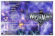 WWF Wrestlemania XXII - Cover
