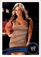 2011 WWE (Topps) Kaitlyn 55