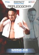 2012 TNA Impact Wrestling Reflexxions Trading Cards (Tristar) Samoa Joe 20