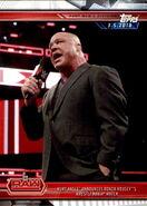 2019 WWE Road to WrestleMania Trading Cards (Topps) Kurt Angle 29