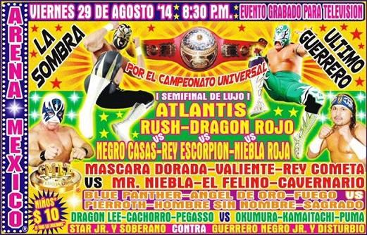CMLL Universal Championship 2014