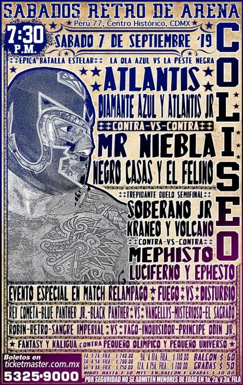 CMLL Sabados De Coliseo (September 7, 2019)
