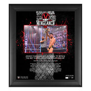 Johnny Gargano NXT TakeOver Vengeance Day 15x17 Commemorative Plaque