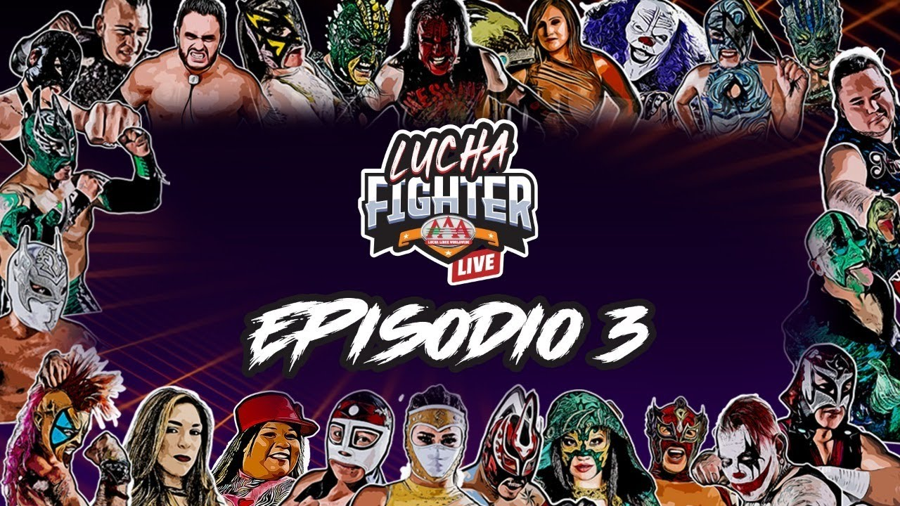 AAA Lucha Fighter (May 2, 2020)