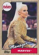 2017 WWE Heritage Wrestling Cards (Topps) Maryse 57