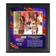 Bayley The Horror Show At Extreme Rules 2020 15x17 Commemorative Limited Edition Plaque