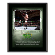 Bobby Lashley Money in The Bank 2018 10 x 13 Plaque