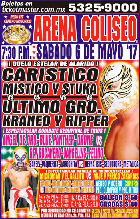 CMLL Sabados De Coliseo (May 6, 2017)