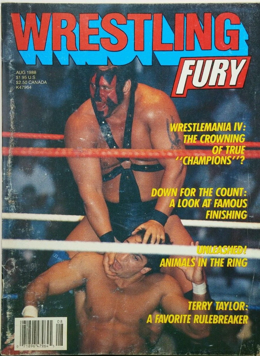 Wrestling Fury - August 1988