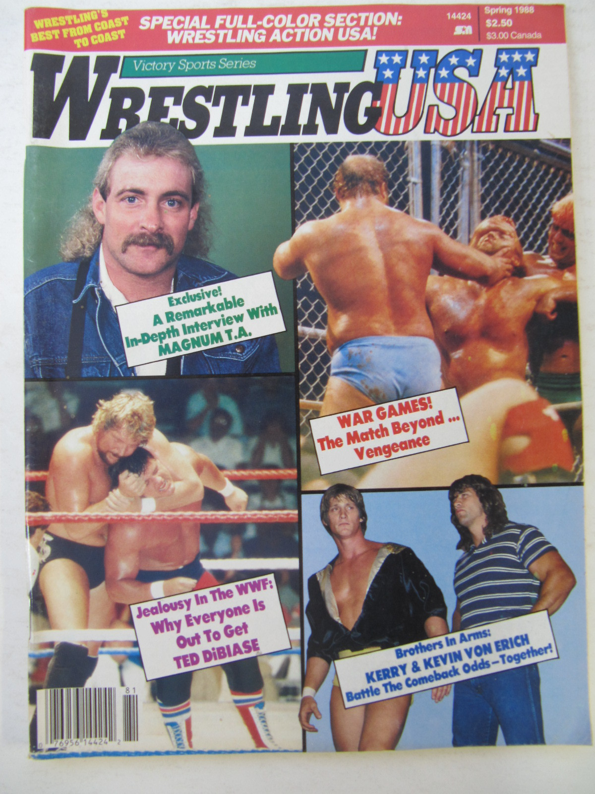 Wrestling USA - Spring 1988