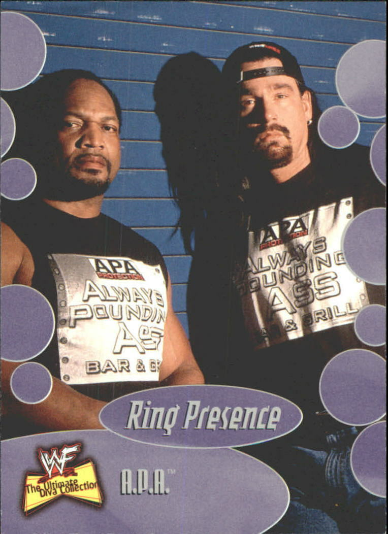 2001 WWF The Ultimate Diva Collection (Fleer) A.P.A. (No.60)