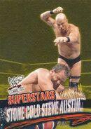 2001 WWF WrestleMania (Fleer) Stone Cold Steve Austin 52