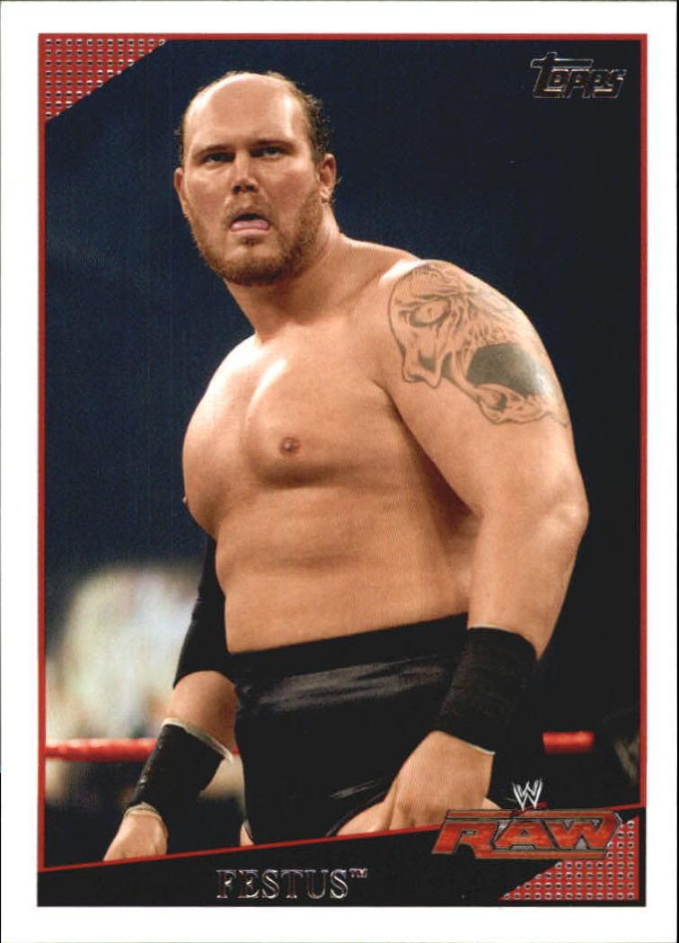 2009 WWE (Topps) Festus (No.23)