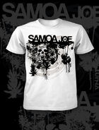 Samoa Joe White Skull T-Shirt