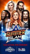 SummerSlam 2019 poster