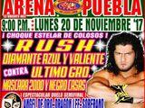 CMLL Lunes Arena Puebla (November 20, 2017)