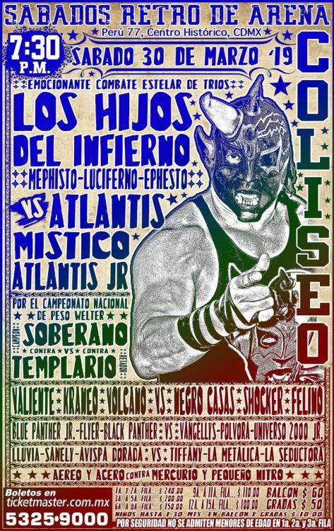 CMLL Sabados De Coliseo (March 30, 2019)