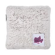 Keith Lee Bask in My Glory Sherpa Throw Pillow