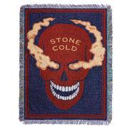 Stone Cold Steve Austin Smoking Skull Tapestry Blanket