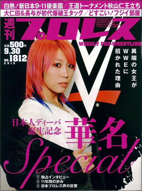 Weekly Pro Wrestling No. 1812