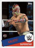 2015 WWE Heritage Wrestling Cards (Topps) Kalisto 76