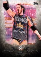 2016 Topps WWE Undisputed Wrestling Cards King Barrett 19