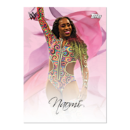 2019 WWE Mother's Day (Topps On-Demand) Naomi 6