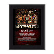 Dean Ambrose & Seth Rollins No Mercy 2017 10 x 13 Commemorative Photo Plaque